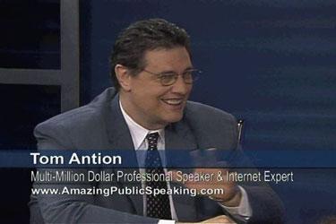 Tom Antion Professional Public Speaker